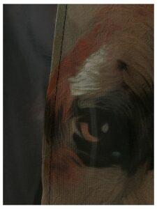 Yes Master Wild Horse fringed kimono - Black