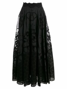 Costarellos macrame skirt - Black