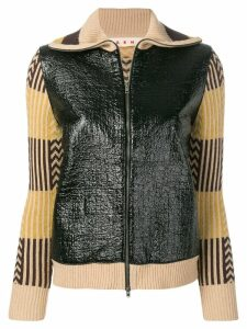 Marni zipped cardigan - Black