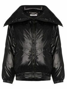 Givenchy logo printed bomber jacket - Black