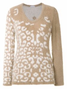 Mara Mac knitted sweater - White