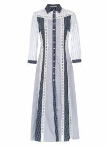 Martha Medeiros midi shirt dress - White