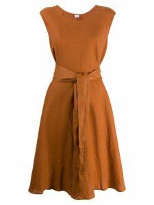 Aspesi belted shift dress - Orange