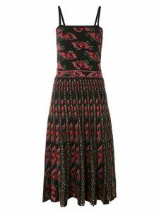 Cecilia Prado Emile knitted silk dress - Black