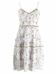 Michael Michael Kors embroidered lace dress - White