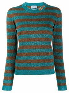 Prada striped sweater - Blue