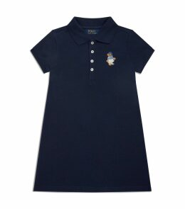 Polo Bear Logo Dress