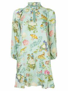 Vilshenko floral print dress - Blue