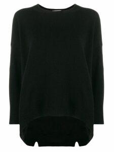 Valentino oversized cashmere knit jumper - Black