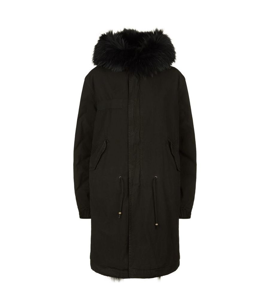 Fur Lined Army Parka