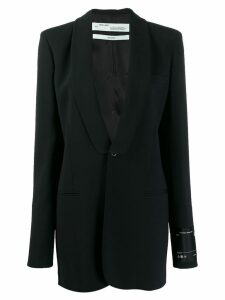 Off-White loose fit smoking blazer - Black