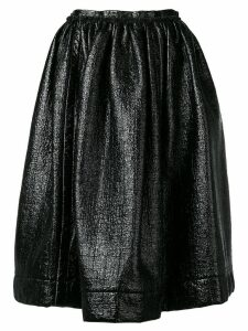 Marni full pleated skirt - Black