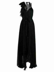 Temperley London Lullaby halter neck dress - Black