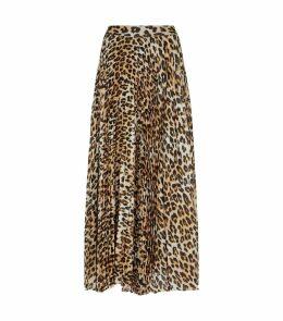 Katz Leopard Print Skirt