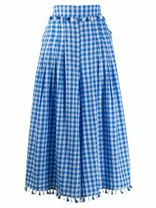 Dodo Bar Or checked skirt - Blue