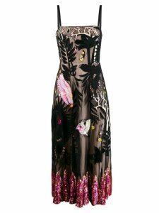 Temperley London embroidered opera dress - Black