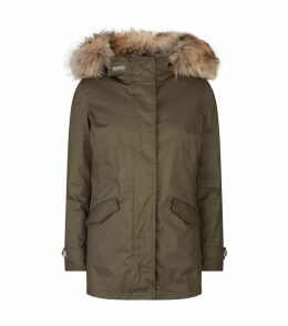 Hooded Parka Coat