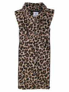 Veronica Beard animal print shirt top - Brown