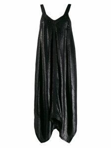 L'Autre Chose sequined asymmetric dress - Black