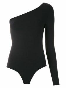 Amir Slama lace insert body top - Black