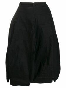 Rundholz asymmetric wide skirt - Black