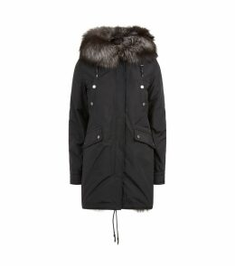 Belleville Fur Lined Reversible Parka