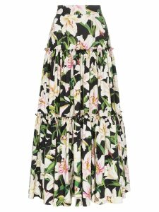 Dolce & Gabbana tiered floral print skirt - Hnkk8 Multicoloured