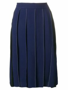 Marni Goma pleat skirt - Blue