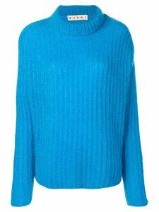 Marni ribbed knit sweater - Blue
