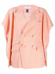 Facetasm ruffle sleeve blazer - Pink
