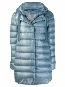 Herno hooded padded coat - Blue