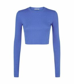 Venice Long Sleeve Crop T-Shirt