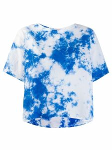 Suzusan tie-dye T-shirt - Blue