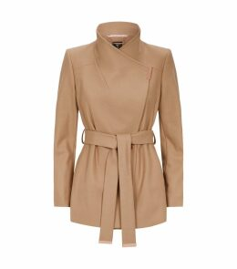 Rytaa Short Wrap Coat