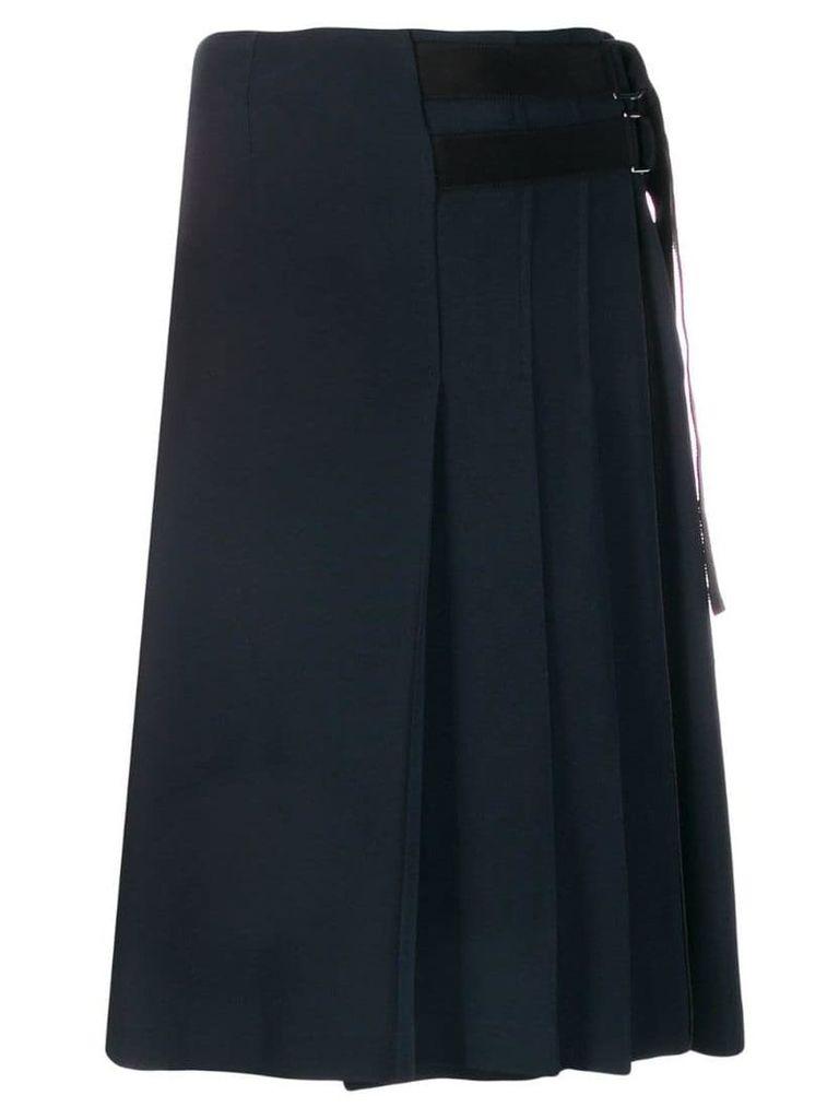 Fay pleated skirt - Blue