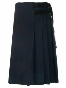 Fay pleated skirt - Blue