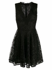 Ermanno Ermanno lace mini dress - Black