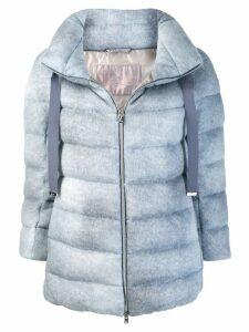 Herno drawstring padded jacket - Blue
