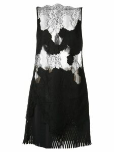 Dion Lee Erosion lace mini dress - Black