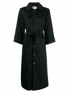 Hope saint military style coat - Black