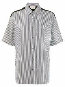 Alexander McQueen striped shirt - Black