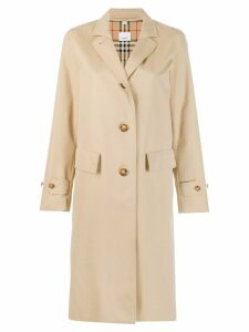 Burberry cotton gabardine car coat - Brown