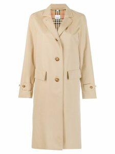 Burberry cotton gabardine car coat - Brown