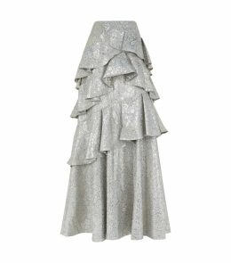 Flossie Paisley Gown Skirt