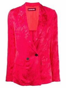 Guardaroba floral print blazer - Red