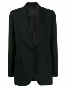 Ermanno Scervino layered single-breasted blazer - Black