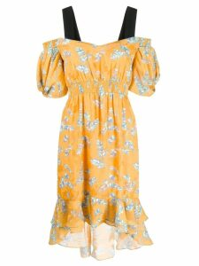 Three Floor Lady Ra Ra dress - Yellow