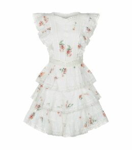 Heathers Tiered Ruffle Mini Dress