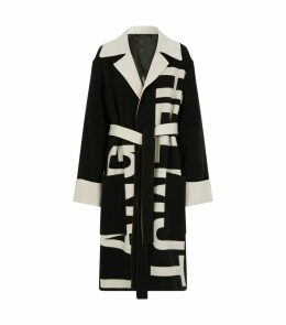 Double-Face Logo Coat