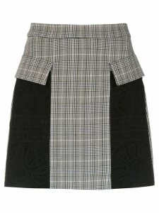 Martha Medeiros panelled skirt - Black